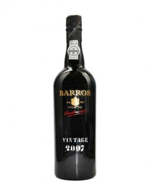 Garcias - Vinhos e Bebidas Espirituosas - VINHO PORTO BARROS VINTAGE 2007 1