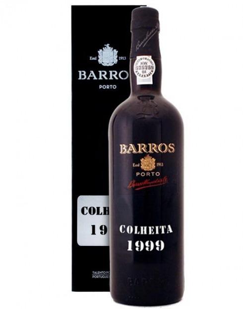 Garcias - Vinhos e Bebidas Espirituosas - VINHO PORTO BARROS COLHEITA 1999 C/ ESTOJO 1