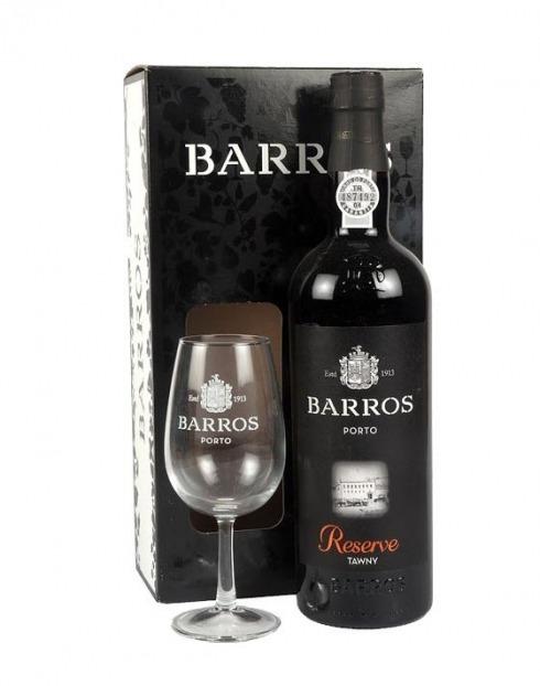 Garcias - Vinhos e Bebidas Espirituosas - VINHO PORTO BARROS SPECIAL RESERVE C/ CALICE 1