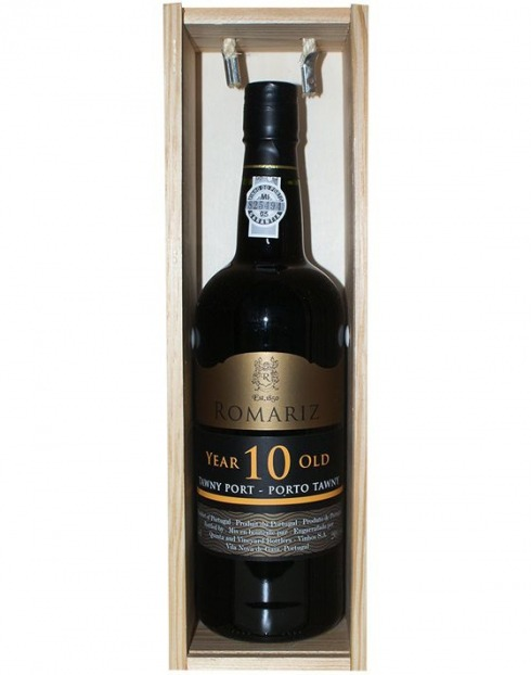 Garcias - Vinhos e Bebidas Espirituosas - VINHO PORTO ROMARIZ TAWNY 10A CX.MAD IND. 1