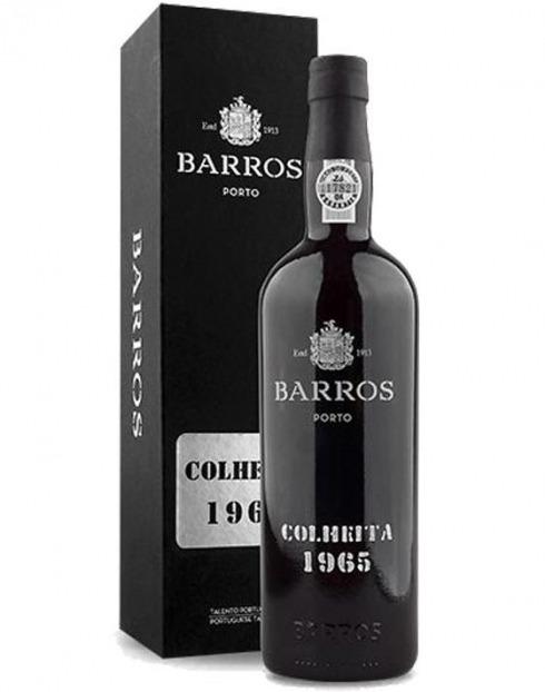 Garcias - Vinhos e Bebidas Espirituosas - VINHO PORTO BARROS COLHEITA 1965 C/ ESTOJO 1