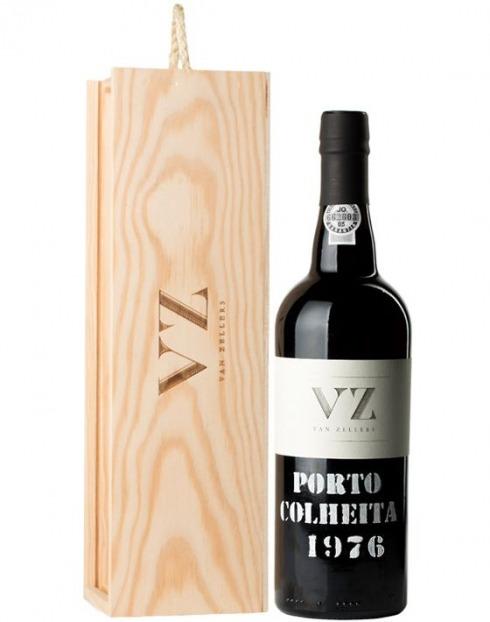 Garcias - Vinhos e Bebidas Espirituosas - VINHO PORTO VAN ZELLERS COLHEITA 1976  CX.MAD  1