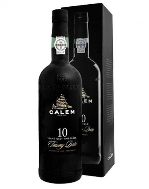 Garcias - Vinhos e Bebidas Espirituosas - VINHO PORTO CALEM 10A C/ CAIXA 1
