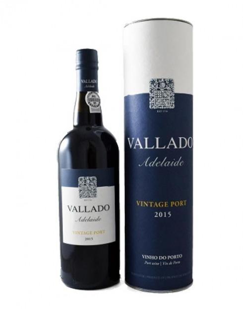 Garcias - Vinhos e Bebidas Espirituosas - VINHO PORTO VALLADO ADELAIDE VINTAGE 2015 C/ TUBO 1