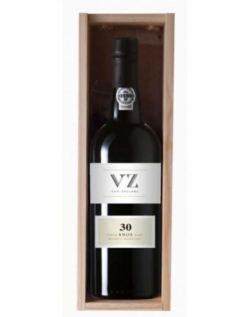 Garcias - Vinhos e Bebidas Espirituosas - VINHO PORTO VAN ZELLERS TAWNY 30 A CX.MAD  1