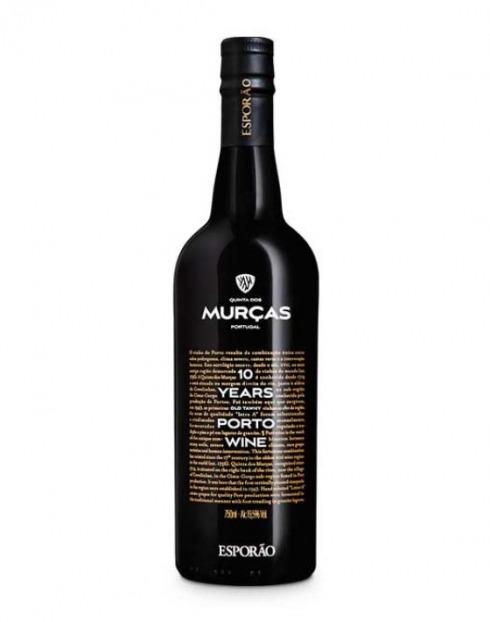 Garcias - Vinhos e Bebidas Espirituosas - VINHO PORTO QUINTA DAS MURÇAS 10A TAWNY 1