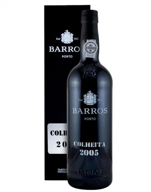 Garcias - Vinhos e Bebidas Espirituosas - VINHO PORTO BARROS COLHEITA 2005 C/ ESTOJO 1