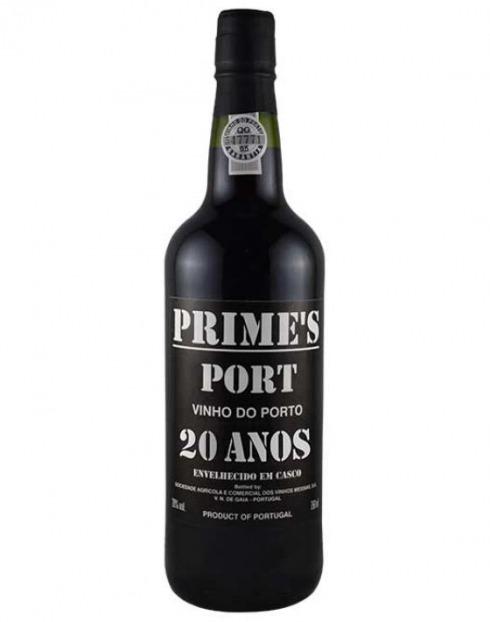 Garcias - Vinhos e Bebidas Espirituosas - VINHO PORTO PRIMES 20 ANOS CX.MAD 1
