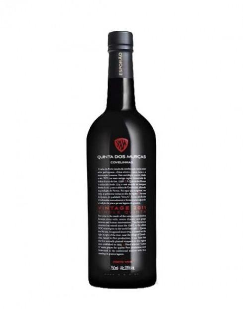 Garcias - Vinhos e Bebidas Espirituosas - VINHO PORTO QUINTA DAS MURÇAS VINTAGE 2011 1