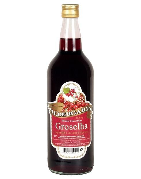Garcias - Vinhos e Bebidas Espirituosas - XAROPE GROSELHA ALBERGARIA 1