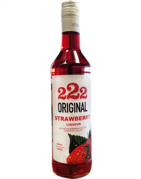 Garcias - Vinhos e Bebidas Espirituosas - LICOR VODKA NIKOLSKI 222 ORIG.STRAWBERRY 1