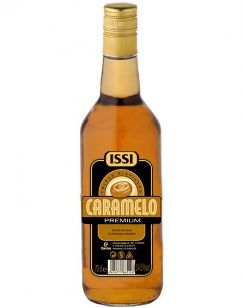 Garcias - Vinhos e Bebidas Espirituosas - LICOR VODKA ISSI CARAMELO  1