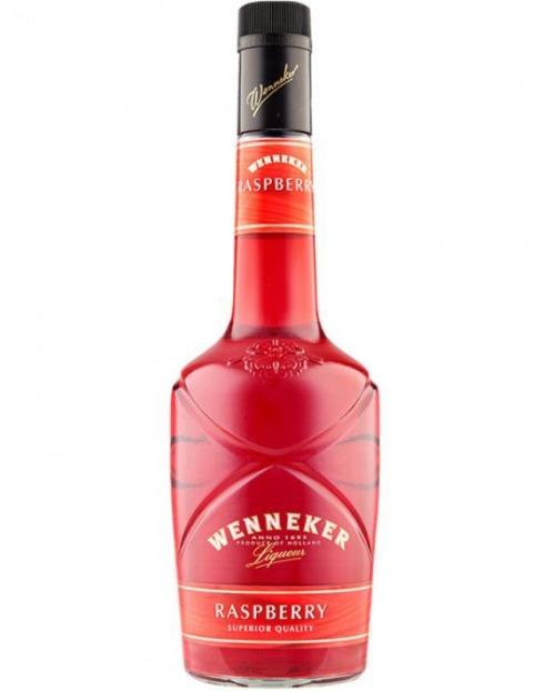 Garcias - Vinhos e Bebidas Espirituosas - LICOR WENNEKER RASPBERRY (FRAMBOESA) 1