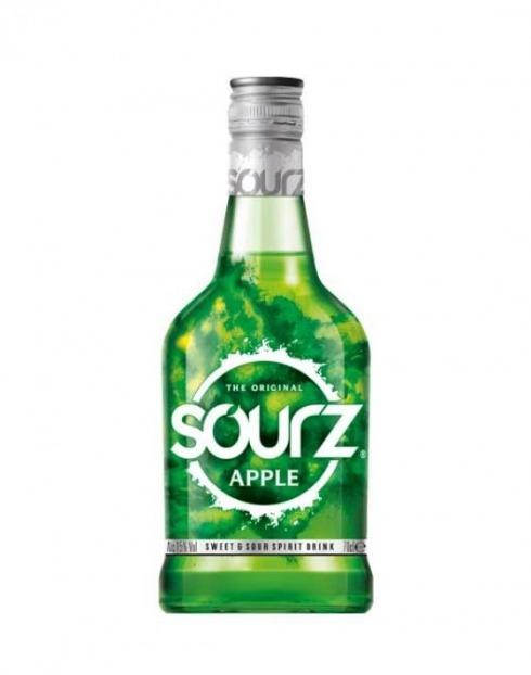 Garcias - Vinhos e Bebidas Espirituosas - LICOR SOURZ APPLE 1