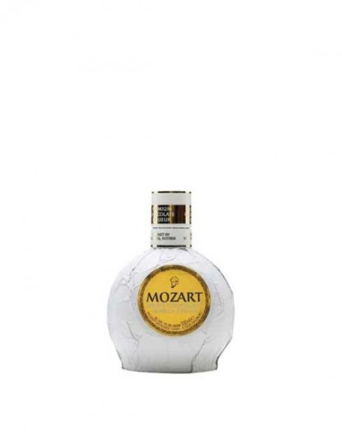 Garcias - Vinhos e Bebidas Espirituosas - LICOR MOZARD CHOCOLATE BRANCO MINIATURA 1