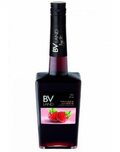 Garcias - Vinhos e Bebidas Espirituosas - LICOR BV Land FRAISES DE BOIS  1