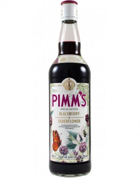 Garcias - Vinhos e Bebidas Espirituosas - PIMM´S BLACKBERRY & ELDERFLOWER  1