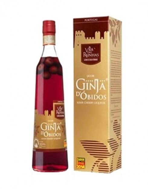 Garcias - Vinhos e Bebidas Espirituosas - GINJA C/ FRUTO D''OBIDOS'' EXTRA C/ CAIXA 1