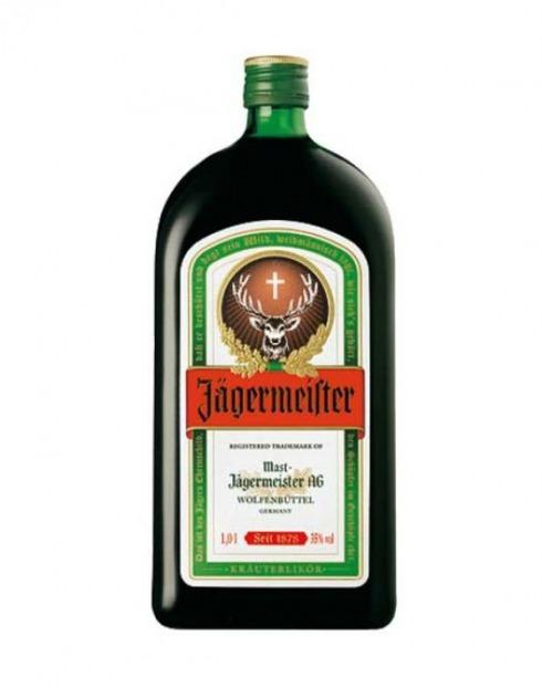 Garcias - Vinhos e Bebidas Espirituosas - LICOR JAGERMEISTER 1L 1