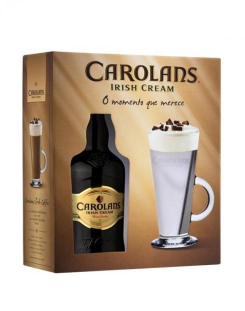 Garcias - Vinhos e Bebidas Espirituosas - LICOR IRISH CAROLANS C/ CANECA 1