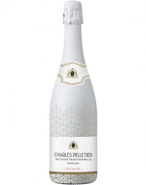 Garcias - Vinhos e Bebidas Espirituosas - VINHO ESPUMANTE CHARLES PELLETIER ICE ROSÉ 1
