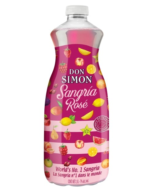 Garcias - Vinhos e Bebidas Espirituosas - SANGRIA DON SIMON ROSE PET  1