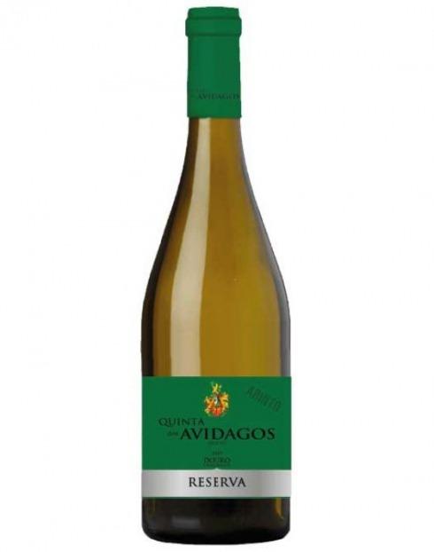 Garcias - Vinhos e Bebidas Espirituosas - VINHO QUINTA AVIDAGOS ARINTO RESERVA DOURO BRANCO 2019  1