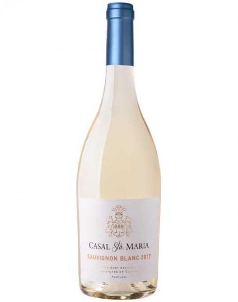 Garcias - Vinhos e Bebidas Espirituosas - VINHO CASAL SANTA MARIA SAUVIGNON BRANCO 2019  1