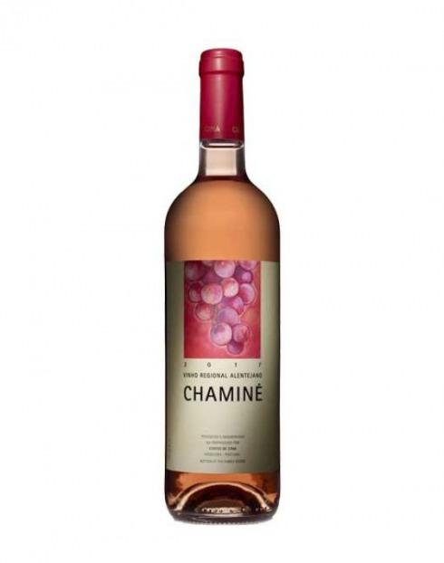 Garcias - Vinhos e Bebidas Espirituosas - VINHO CHAMINÉ ROSÉ 2018 1