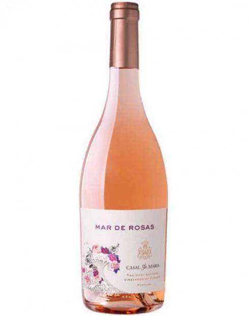 Garcias - Vinhos e Bebidas Espirituosas - VINHO MAR DE ROSAS CASAL SANTA MARIA ROSE 3L 1