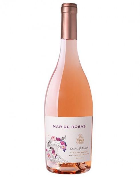 Garcias - Vinhos e Bebidas Espirituosas - VINHO MAR DE ROSAS CASAL SANTA MARIA ROSE 1