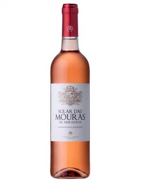 Garcias - Vinhos e Bebidas Espirituosas - VINHO SOLAR DAS MOURAS ROSÉ 2018 1