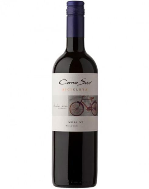 Garcias - Vinhos e Bebidas Espirituosas - VINHO CONOSUR BICICLETA MERLOT TIN 2017 1