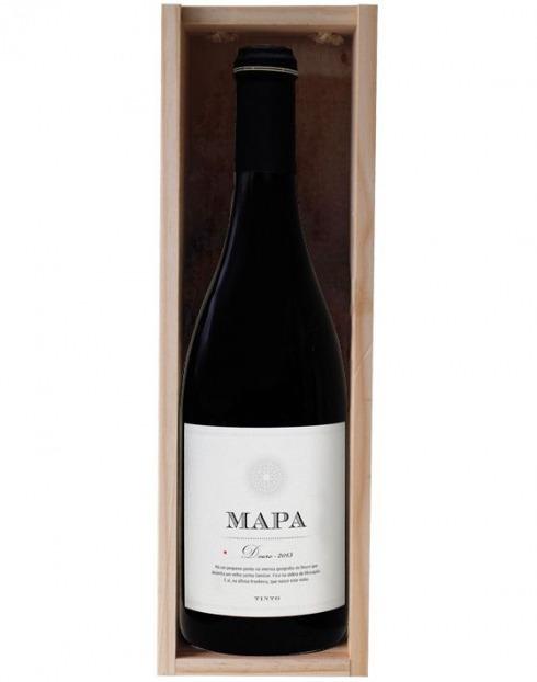 Garcias - Vinhos e Bebidas Espirituosas - VINHO MAPA GRANDE RESERVA TINTO 2015 CX MAD 1,5L 1