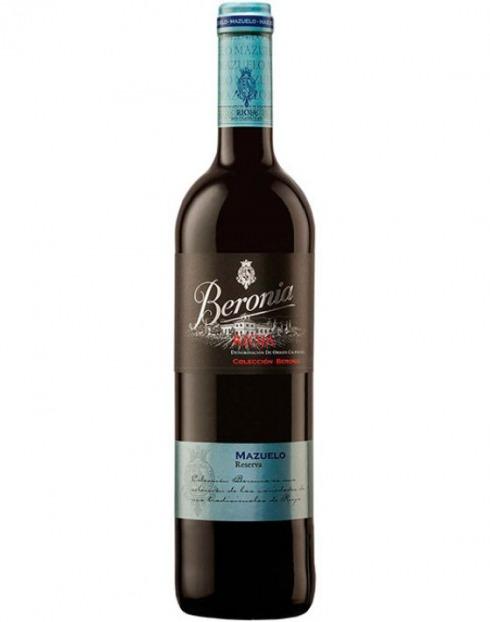 Garcias - Vinhos e Bebidas Espirituosas - VINHO BERONIA MAZUELO RESERVA TIN 2012  1