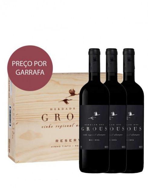 Garcias - Vinhos e Bebidas Espirituosas - VINHO HERDADE DOS GROUS RESERVA TINTO 2016 1