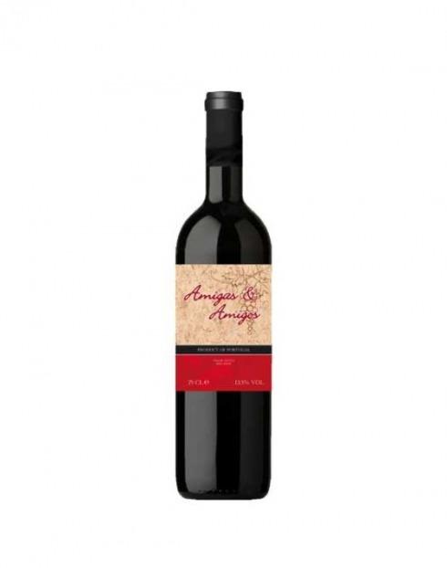 Garcias - Vinhos e Bebidas Espirituosas - VINHO AMIGAS & AMIGOS TINTO 0,75L 1