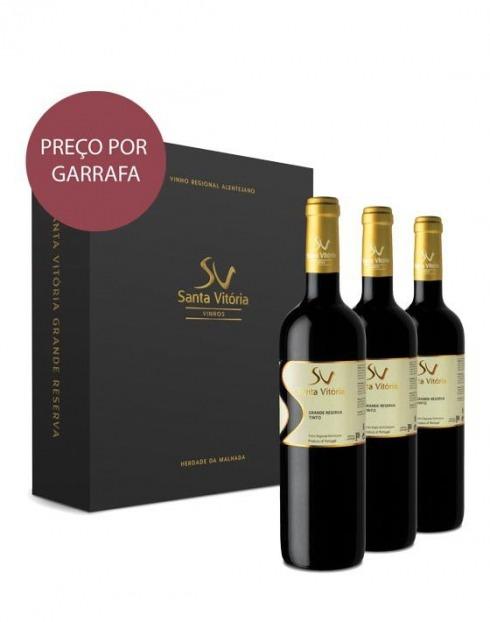 Garcias - Vinhos e Bebidas Espirituosas - VINHO CASA SANTA VITÓRIA GR.RESERVA TINTO 2016 CX.CARTÃO 1
