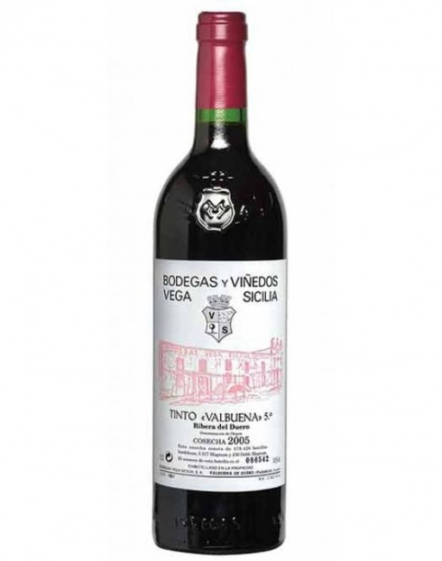 Garcias - Vinhos e Bebidas Espirituosas - VINHO VEGA SICILIA VALBUENA TIN 2013 CX.MAD 1,5L 1