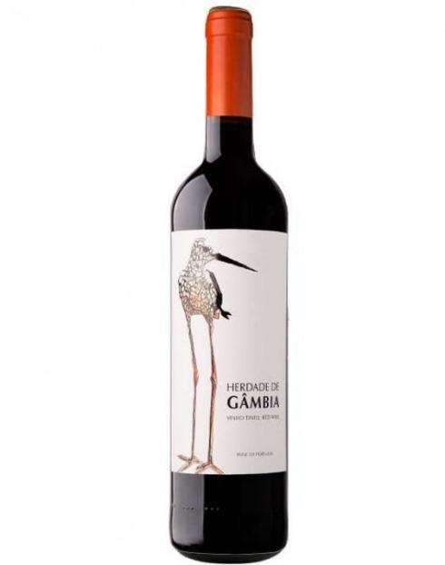 Garcias - Vinhos e Bebidas Espirituosas - VINHO HERDADE DA GÂMBIA TINTO 2019 1