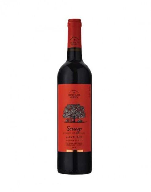 Garcias - Vinhos e Bebidas Espirituosas - VINHO HERDADE PESO SOSSEGO TINTO 2019 1