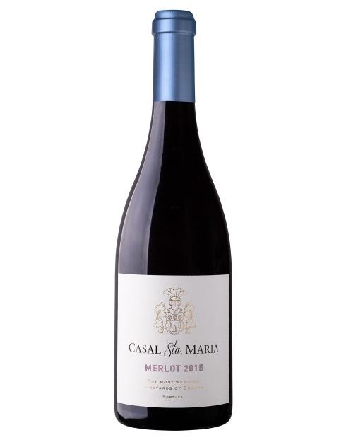 Garcias - Vinhos e Bebidas Espirituosas - VINHO CASAL SANTA MARIA MERLOT TINTO 1
