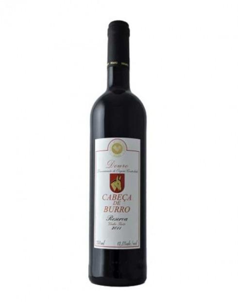 Garcias - Vinhos e Bebidas Espirituosas - VINHO CABEÇA DE BURRO RESERVA TINTO 2016 1