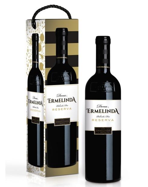 Garcias - Vinhos e Bebidas Espirituosas - VINHO DONA ERMELINDA RESERVA TINTO 2018 C/CX  1