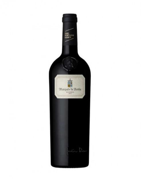 Garcias - Vinhos e Bebidas Espirituosas - VINHO MARQUES BORBA JPR RESERVA TINTO 2017 CX MAD 1