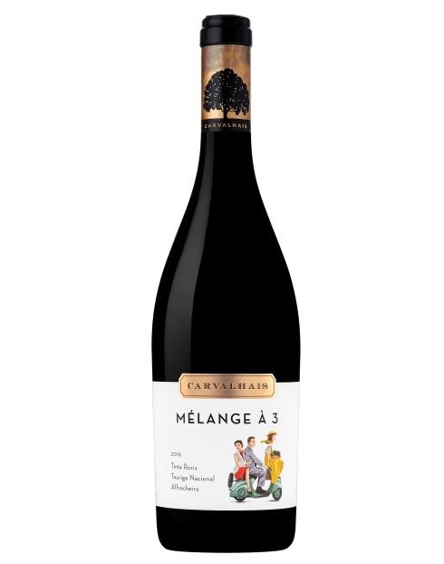 Garcias - Vinhos e Bebidas Espirituosas - VINHO QUINTA CARVALHAIS MELANGE A TROIS 0.75 1