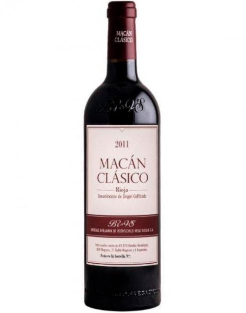 Garcias - Vinhos e Bebidas Espirituosas - VINHO MACÁN TINTO 2017 1