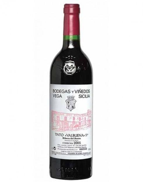 Garcias - Vinhos e Bebidas Espirituosas - VINHO VEGA SICILIA VALBUENA TINTO 2016 1,5 L 1
