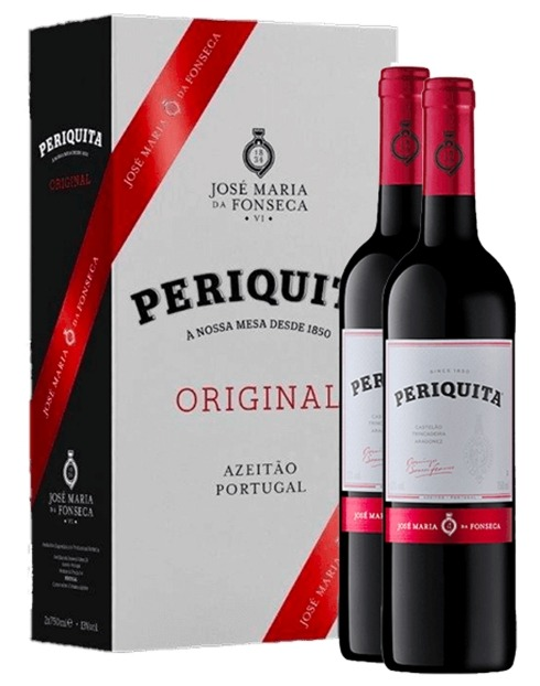 Garcias - Vinhos e Bebidas Espirituosas - VINHO PERIQUITA TINTO 2019 CONJ. 2GFS 1