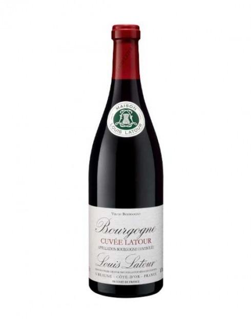 Garcias - Vinhos e Bebidas Espirituosas - VINHO LOUIS LATOUR BOURGOGNE CUVÉE LATOUR TINTO 2019 1